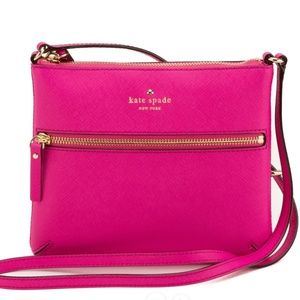 Kate Spade Hot Pink Tenley Crossbody Bag